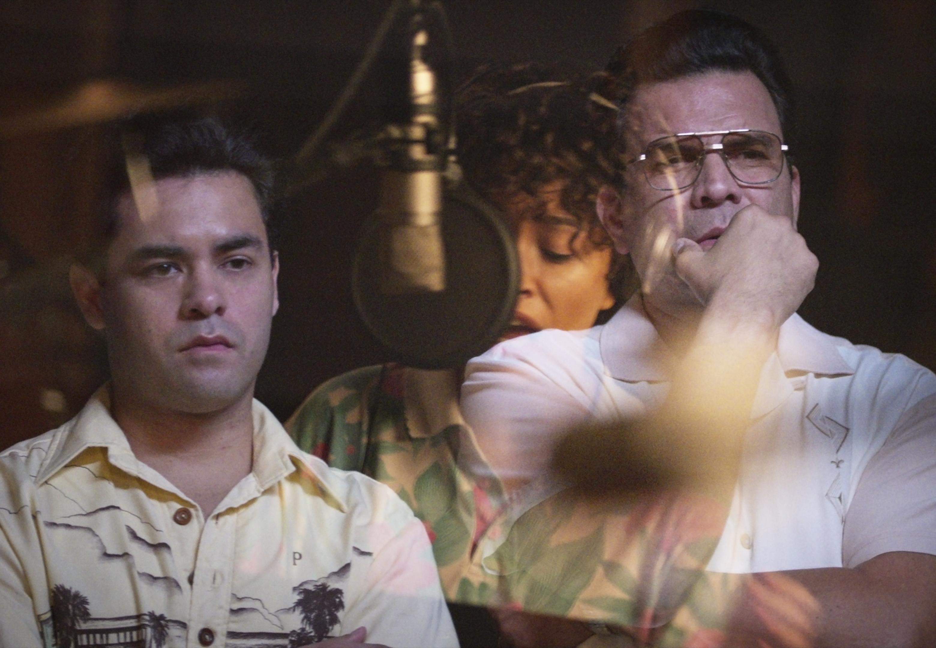 Gabriel Chavarria and Ricardo Chavira in 'Selena'