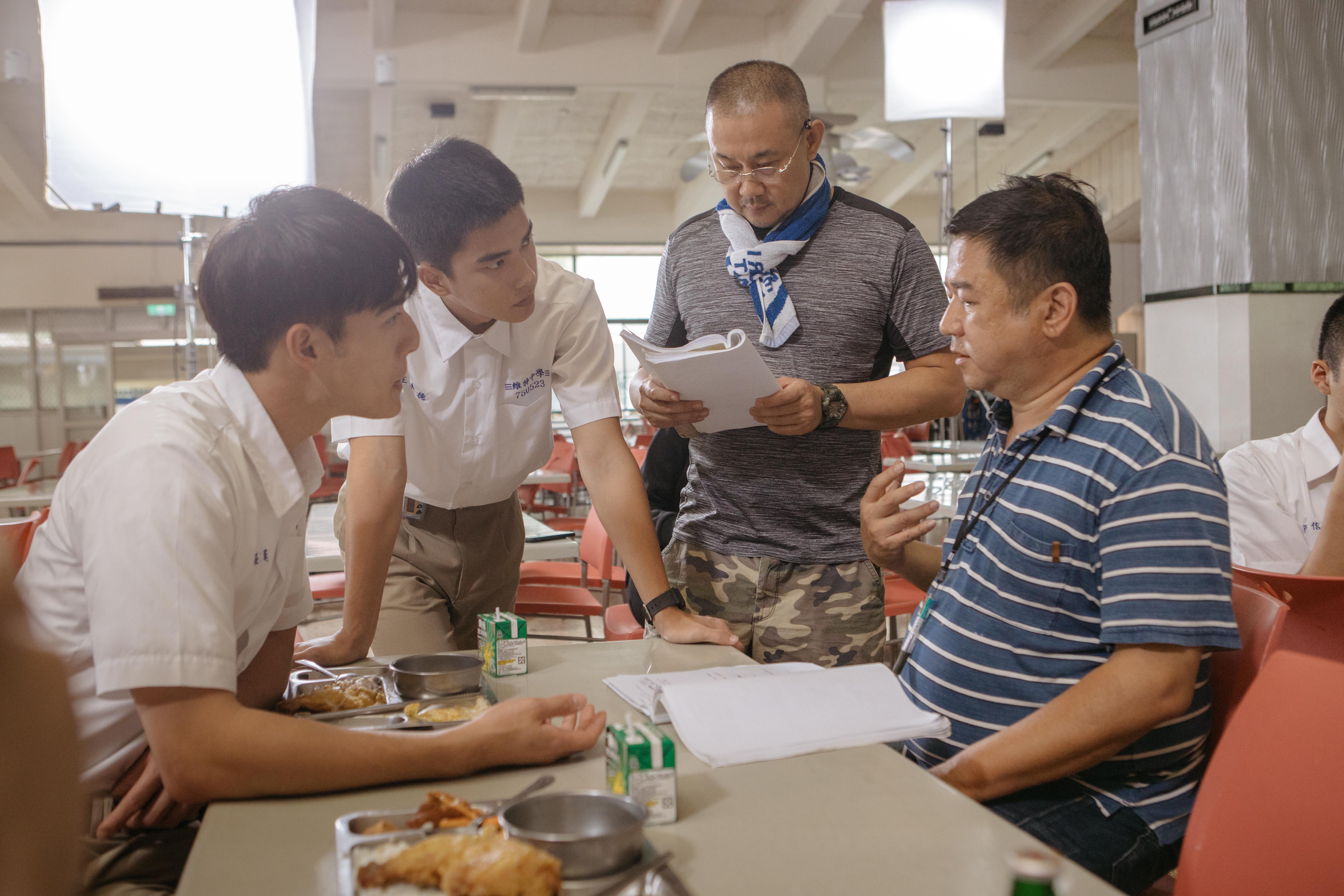 From left to right: Edward Chen, Jing-Hua Tseng, Patrick Liu, Arthur Chu