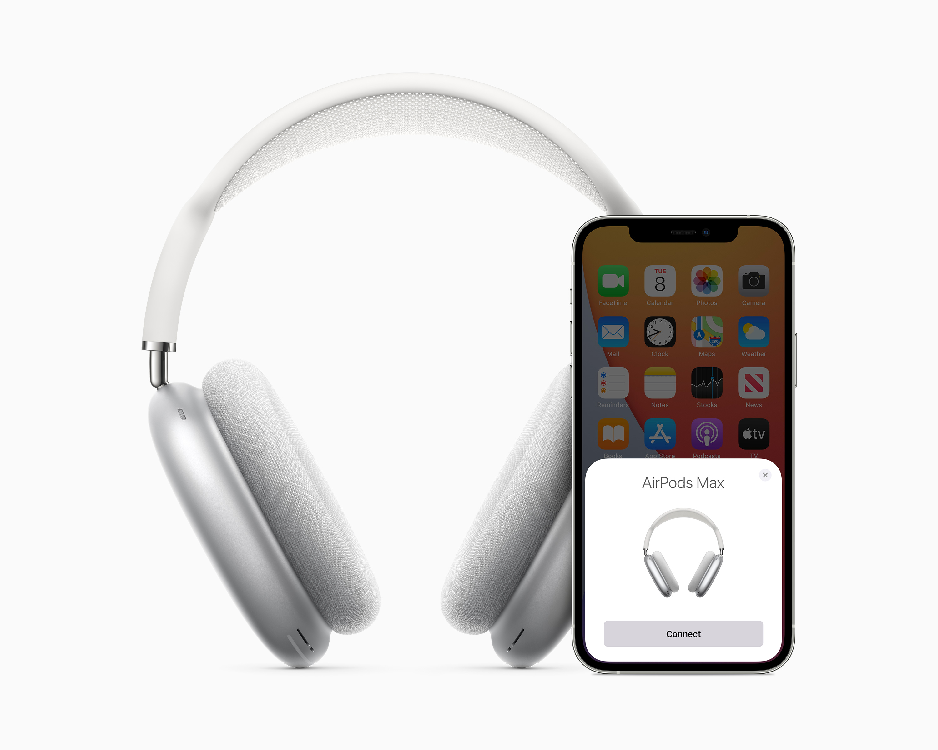 Apple's new $550 AirPods Max headphones won't arrive in time for the holiday season for many customers placing new orders with the company online, Bloomberg reported on Wednesday, Dec. 9, 2020.