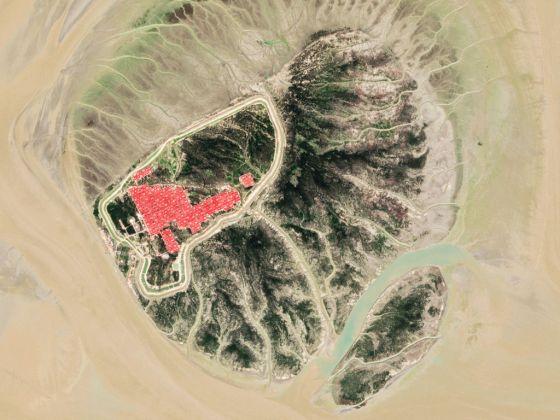 Satellite views of Bhasan Char