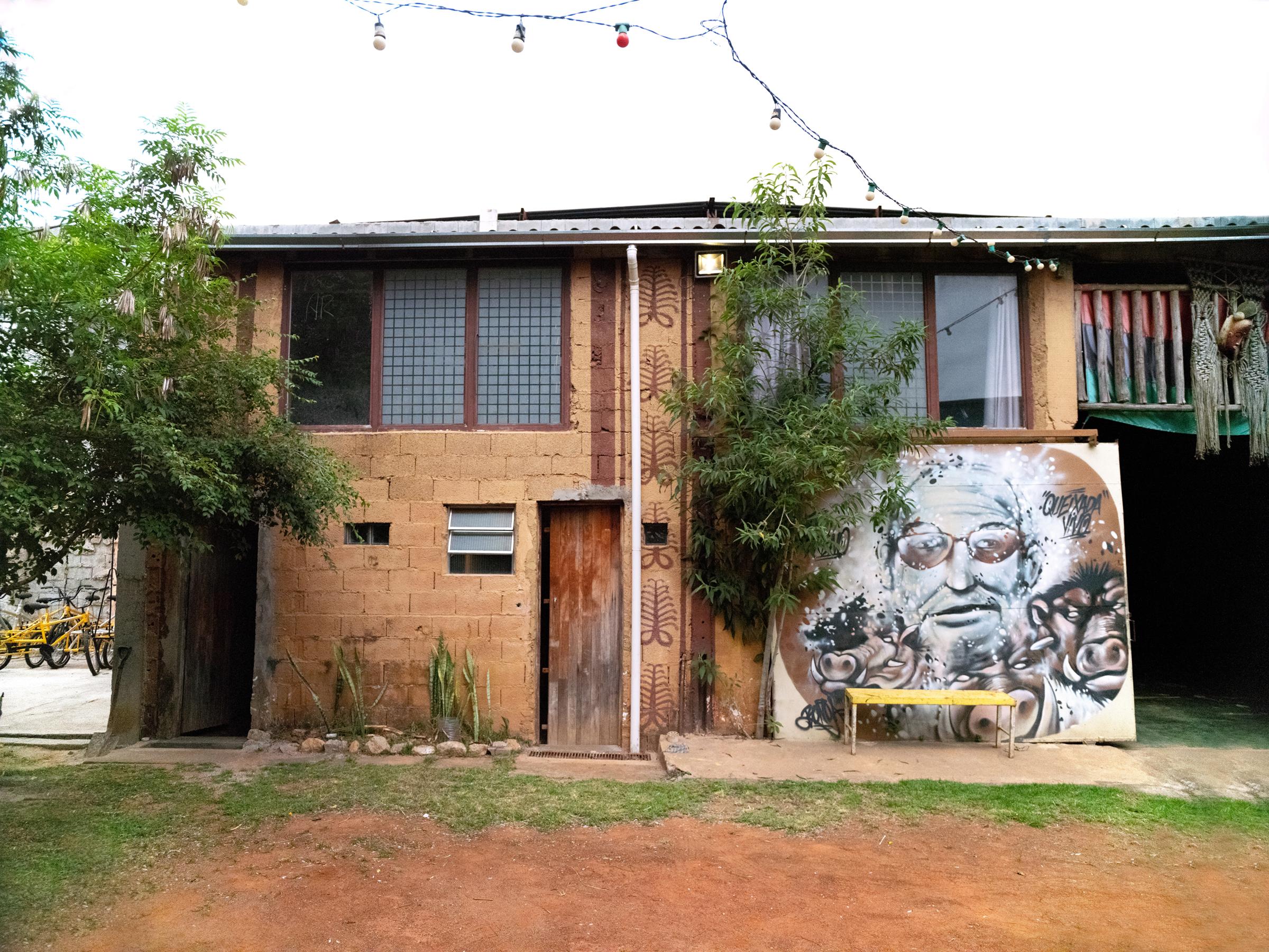 The Black community hub of Quilombaque, in Perus, São Paulo on Dec. 5, 2020.