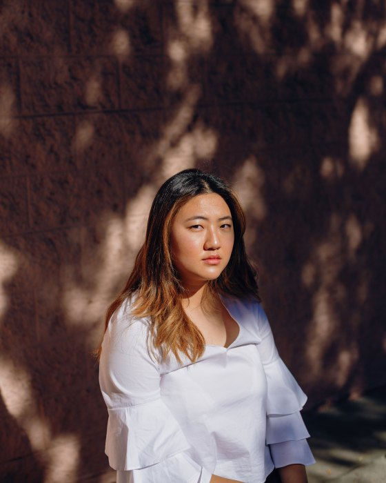Hannah Hae In Kim in Los Angles, on Dec. 6, 2020.