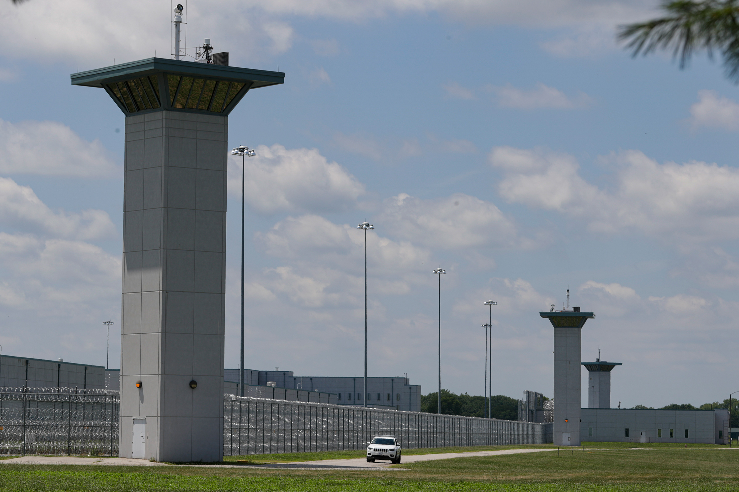 Federal prison complex in Terre Haute, Ind., on July 17, 2020. Ten federal prisoners have been executed there since July.
