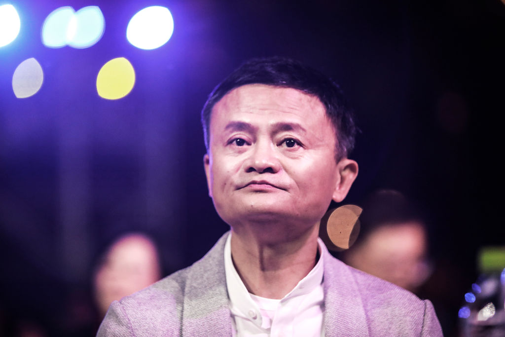 China kicked off an investigation into alleged monopolistic practices at Alibaba Group Holding and summoned affiliate Ant Group to a high-level meeting over financial regulations, escalating scrutiny over the twin pillars of billionaire Jack Ma's internet empire. Ma is pictured in January 2020.