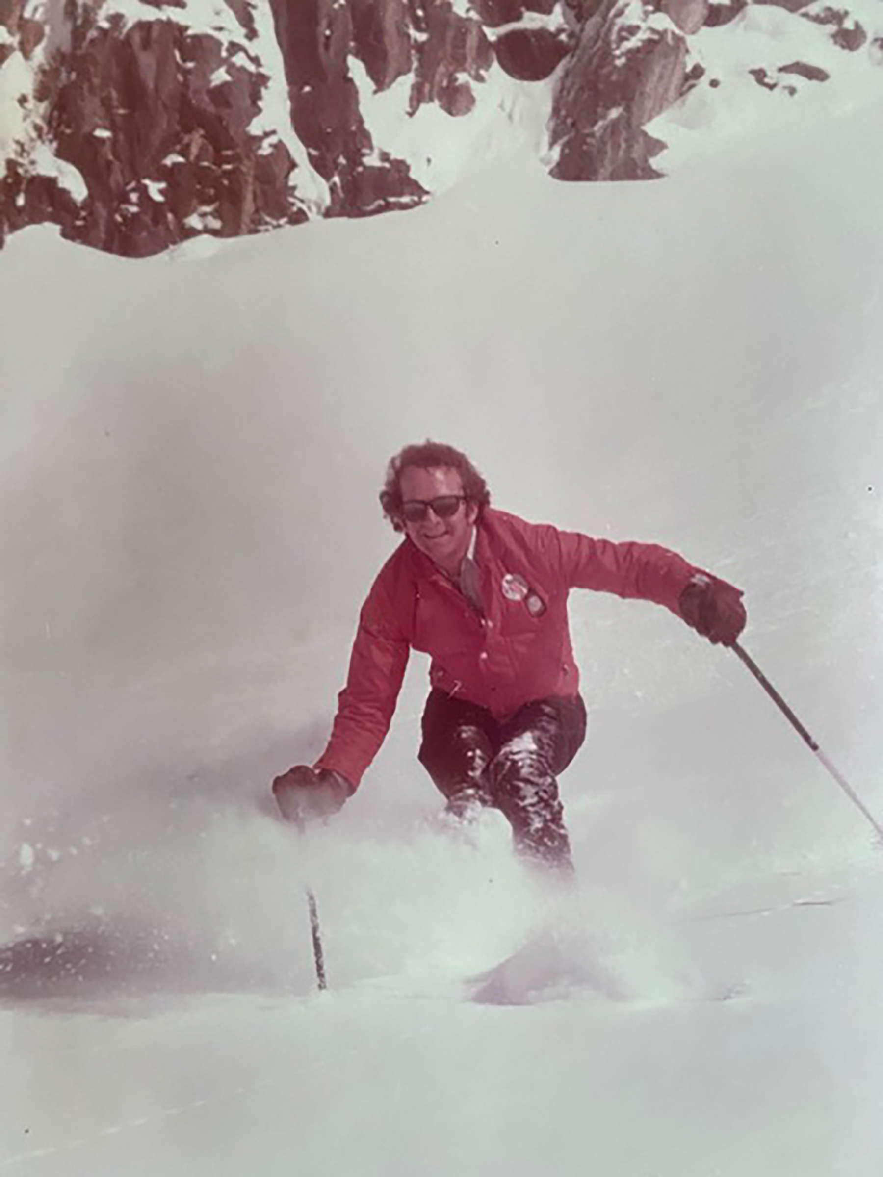 Gow skiing in the 70s