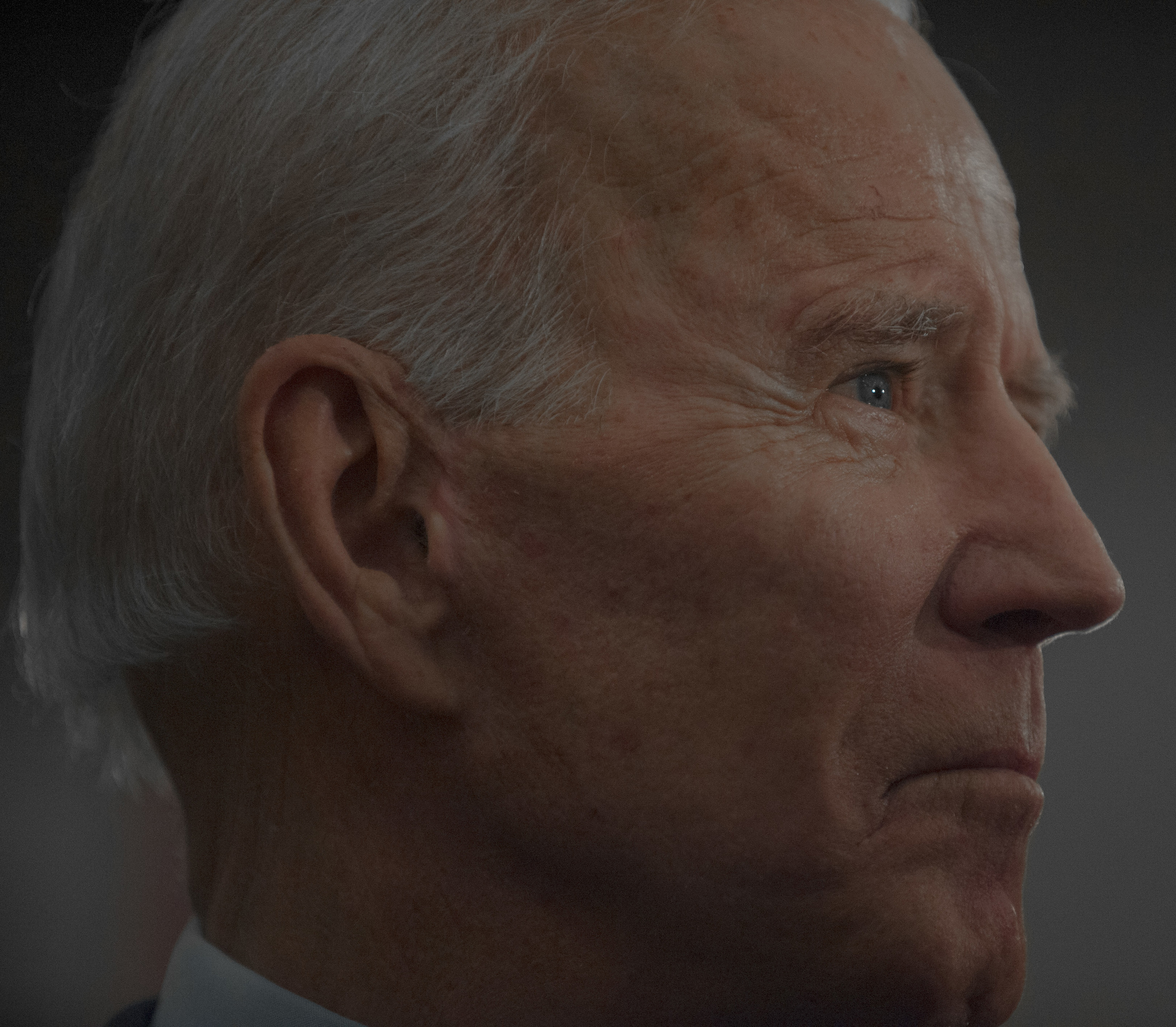 Joe Biden, presidential candidate and former Vice President, speaks to his supporters in Fort Dodge, Iowa, on Jan. 21.