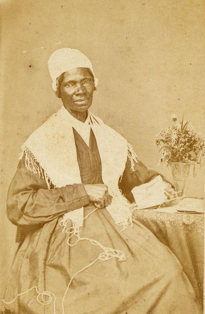 Circa 1864 portrait of activist Sojourner Truth.