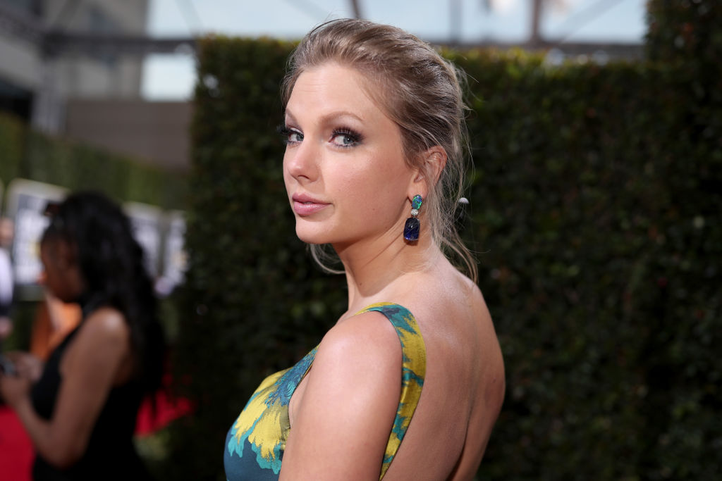 Taylor Swift arrives to the 77th Annual Golden Globe Awards held at the Beverly Hilton Hotel on January 5, 2020.