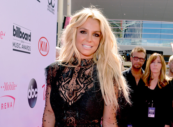 Britney Spears attends the 2016 Billboard Music Awards at T-Mobile Arena in Las Vegas, Nevada on May 22, 2016.