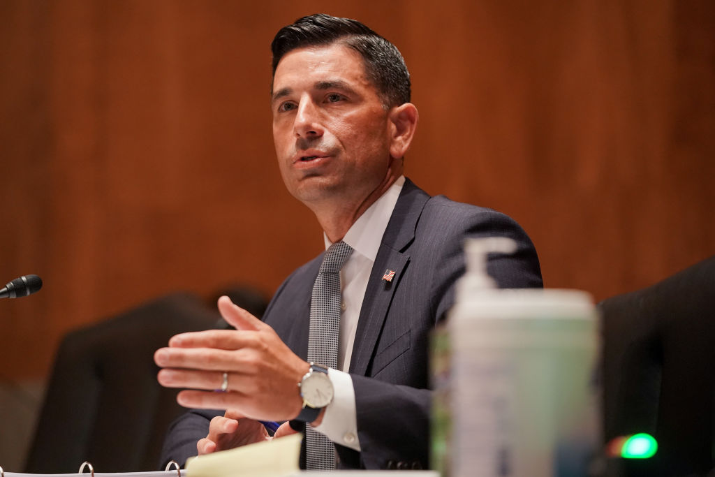 Department of Homeland Security acting Secretary testifies during his confirmation hearing before the Senate Homeland Security and Governmental Affairs Committee on Sept. 23, 2020 in Washington.