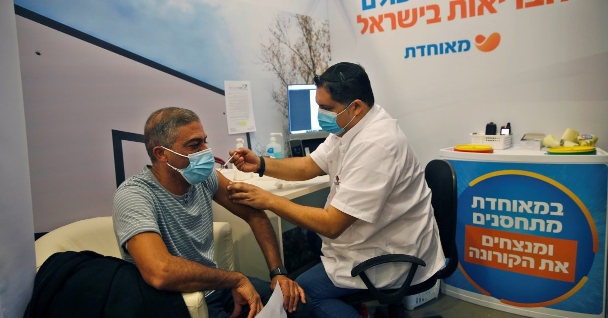 Israel Is Leading the World in COVID-19 Vaccination. But Palestinians Aren't on the List