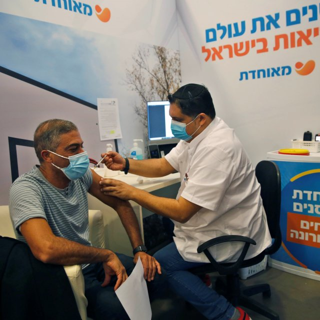 Israel Leads in COVID-19 Vaccinations. Palestinians Aren't on the List