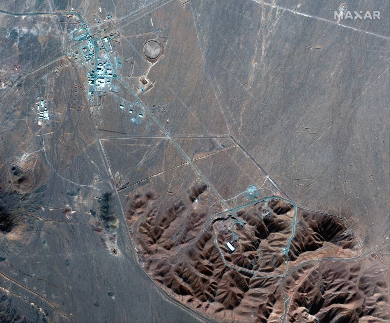 Iran Plans 20% Uranium Enrichment at Underground Fordo Nuclear Facility 'as Soon as Possible'
