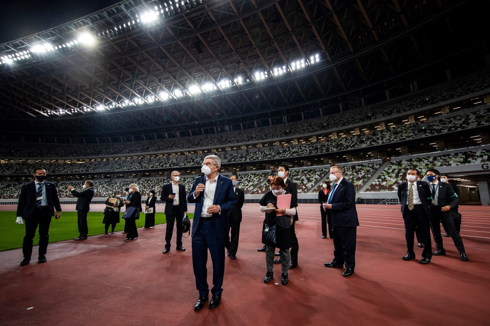 IOC President Thomas Bach Visits Japan