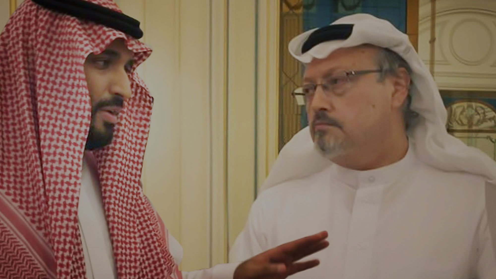 A still from Bryan Fogel's stirring new documentary about journalist Jamal Khashoggi