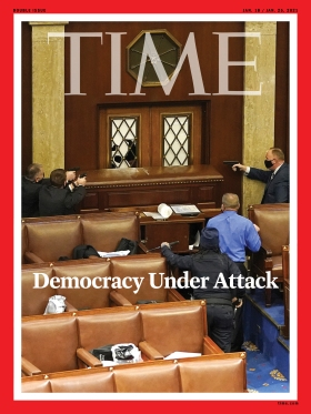 Democracy Under Attack Time Magazine cover