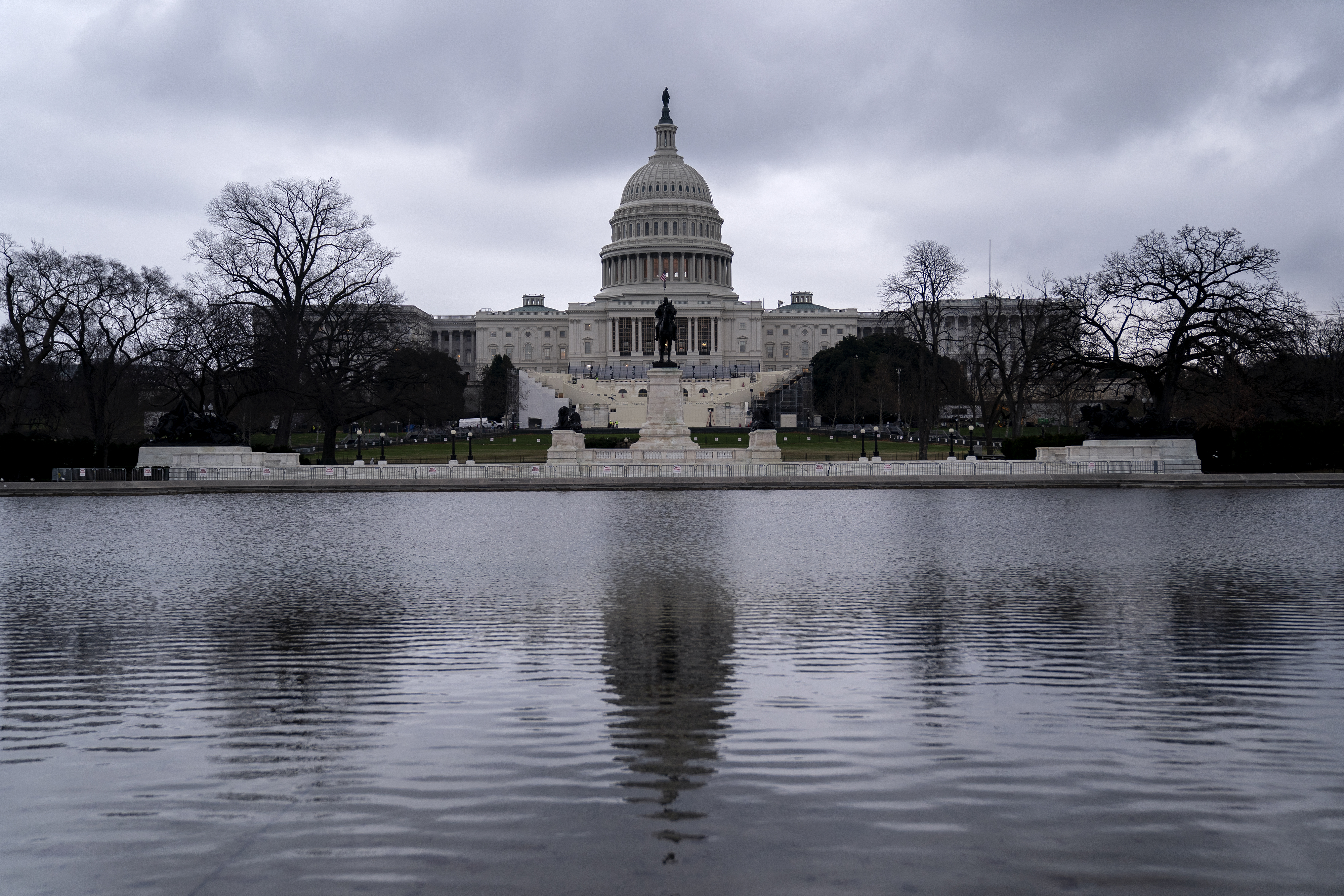 The U.S. Capitol in Washington, D.C., on Jan. 5, 2021.