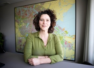"Marieke vanDoorninck, deputy mayor for sustainability, is trying to make Amsterdam a ""doughnut cityâ€"