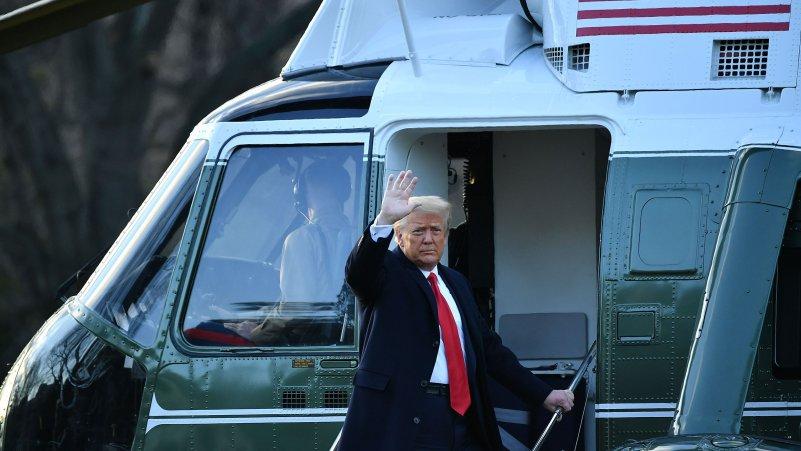 Live Updates: Trump Departs White House as Washington Prepares for Biden's Inauguration