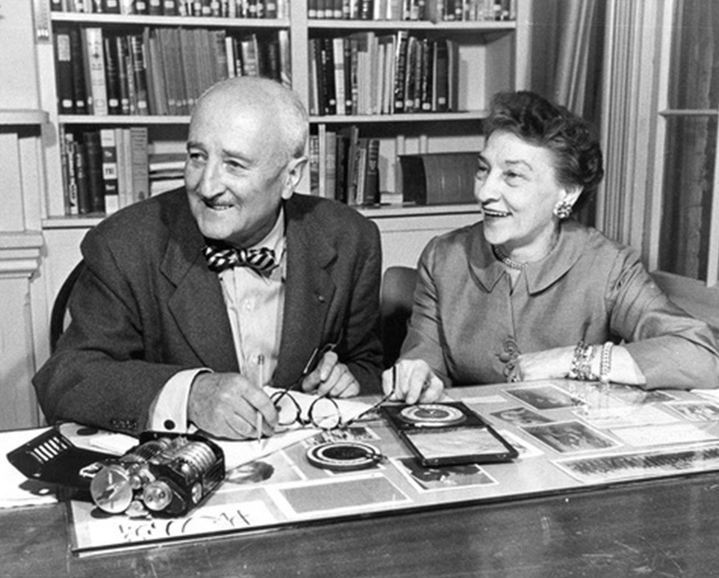 William Friedman and Elizebeth Smith Friedman