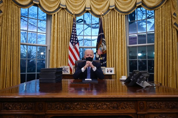 President Biden prepares to sign Executive Orders on Jan. 20