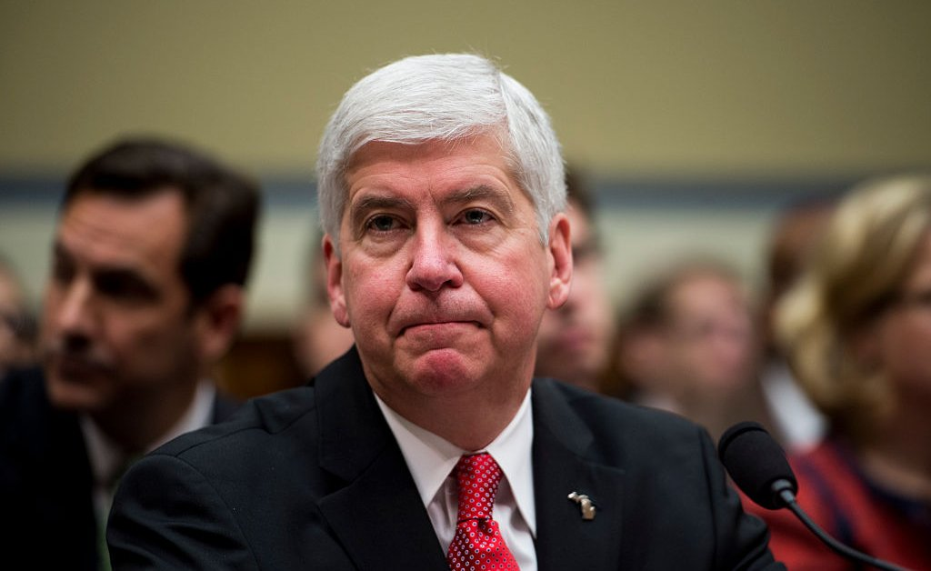 <p>Ex Michigan Gov. Rick Snyder Charged With Neglect of Duty for Flint Water Crisis thumbnail