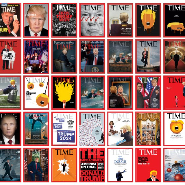 The Stories Behind Donald Trump's TIME Covers