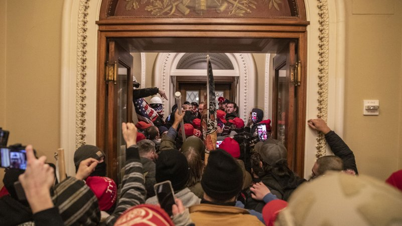 Photographs Inside the Chaos at the Capitol