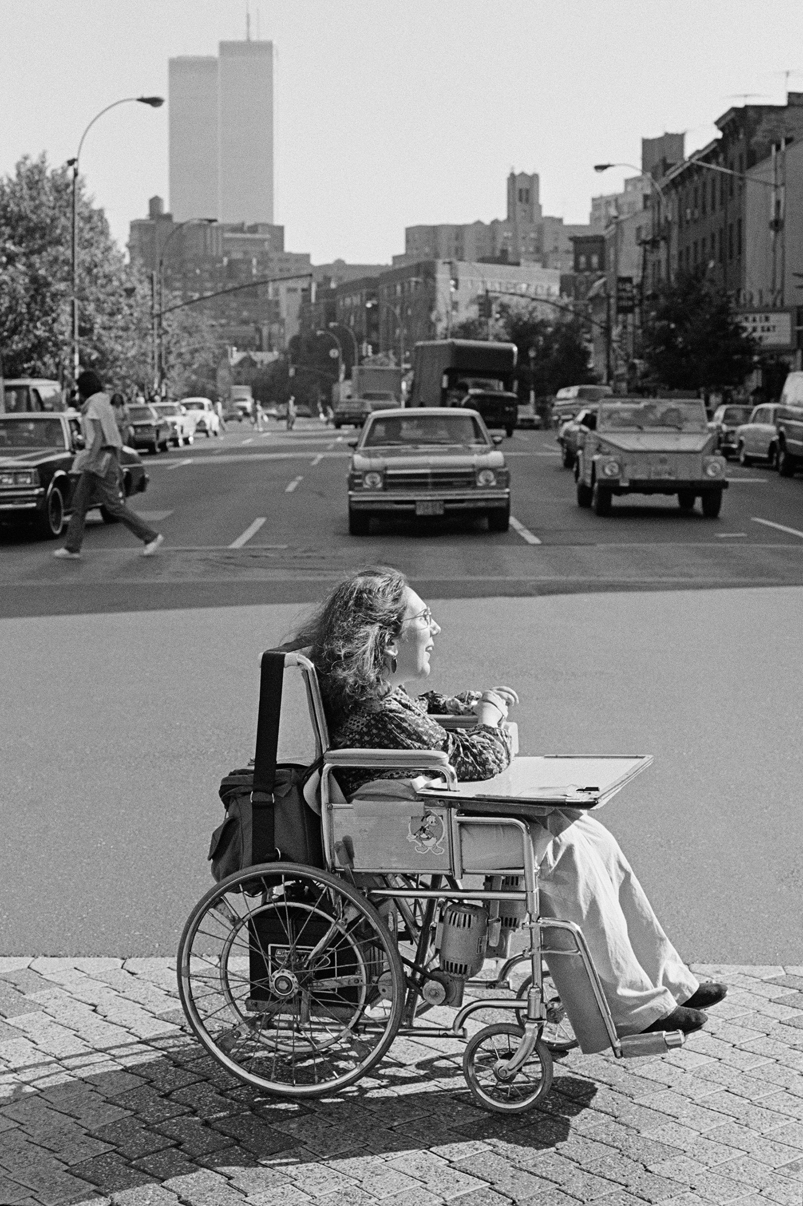 There is a disabled closet as well as a Lesbian closet. It was an easy transition for me to come out because I always had to be a strong woman.  Connie Panzarino, New York City, 1979