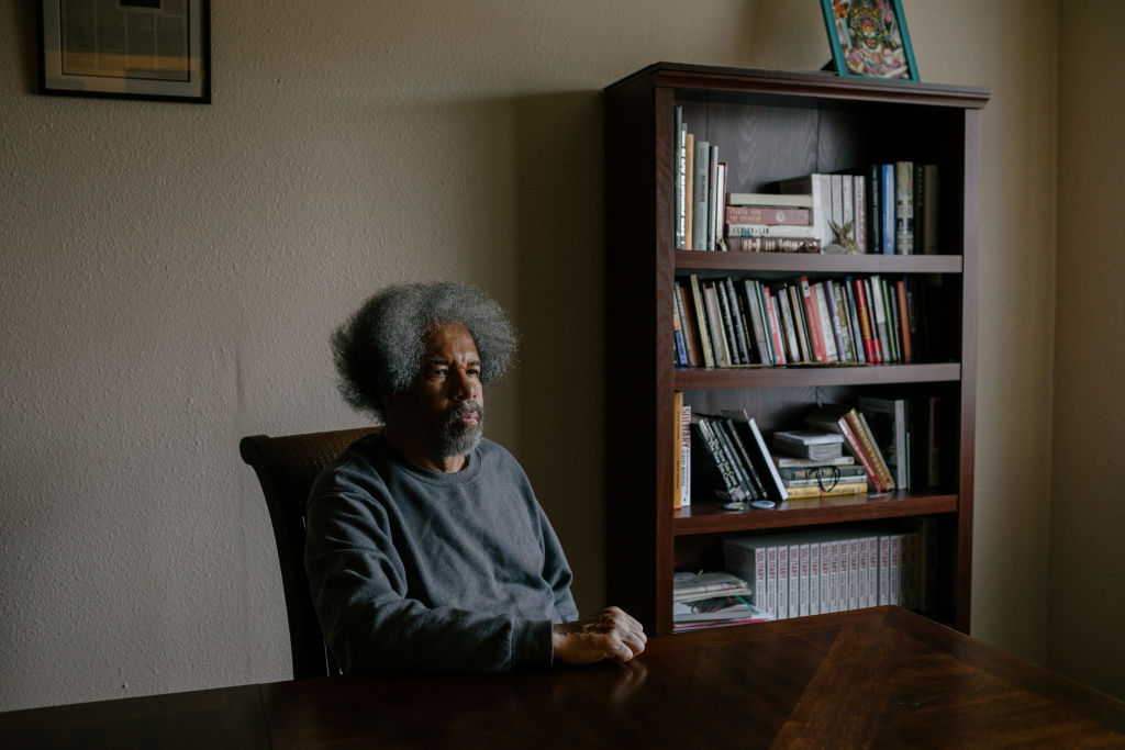 NEW ORLEANS, LOUISIANA, USA - MARCH 9, 2020                                          Albert Woodfox at his home in New Orleans, La. A member of the Angola 3, a group of three men who were wrongfully accused of murder, and sentenced to solitary confinement for 44 years. Woodfox was freed from prison in February, 2016.