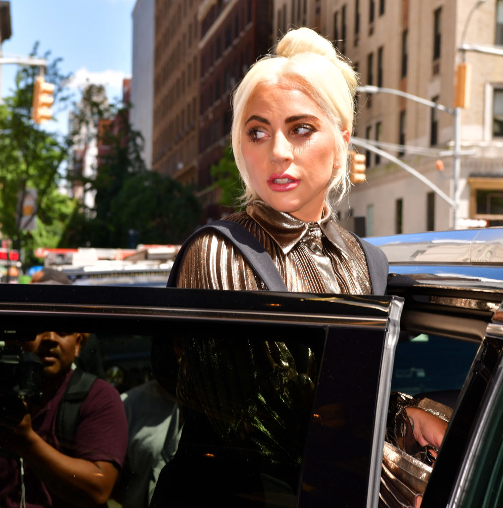 Lady Gaga seen leaving her hotel on July 1, 2019 in New York City. Lady Gaga's dog walker was shot and two of the singer's French bulldogs were stolen in Hollywood during an armed robbery on Wednesday, Feb. 24, 2021.
