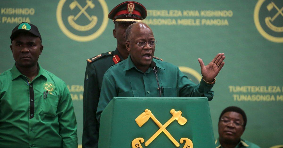 <p>Tanzania's President Admits Country Has a COVID-19 Problem thumbnail