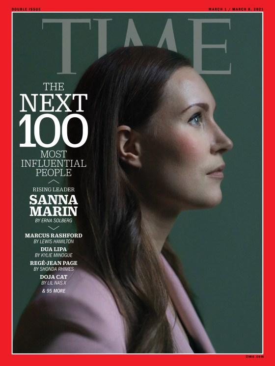 Sanna Marin Time Magazine cover