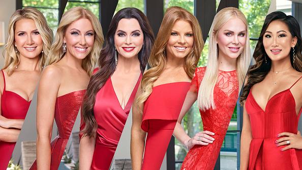 The Real Housewives of Dallas Season 5 - Pictured: (l-r) Kary Brittingham, Stephanie Hollman, D'Andra Simmons, Brandi Redmond, Kameron Westcott, Tiffany Moon