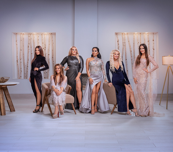 The Real Housewives of Salt Lake City Season 1 - Pictured: (l-r) Lisa Barlow, Mary Cosby, Heather Gay, Jen Shah, Whitney Rose, Meredith Marks