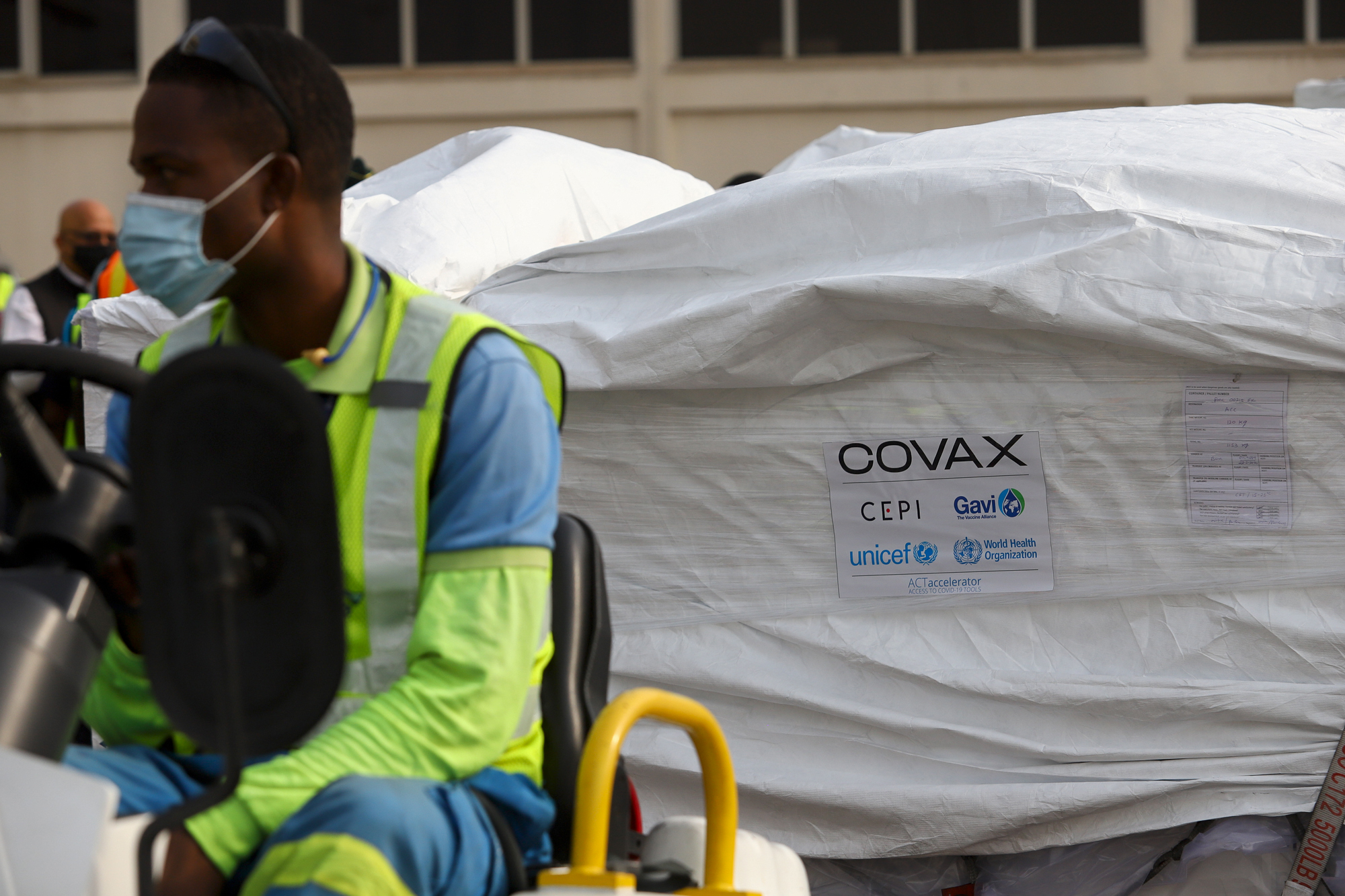 Ghana Receives First COVID-19 Vaccine Delivery from COVAX | TIME