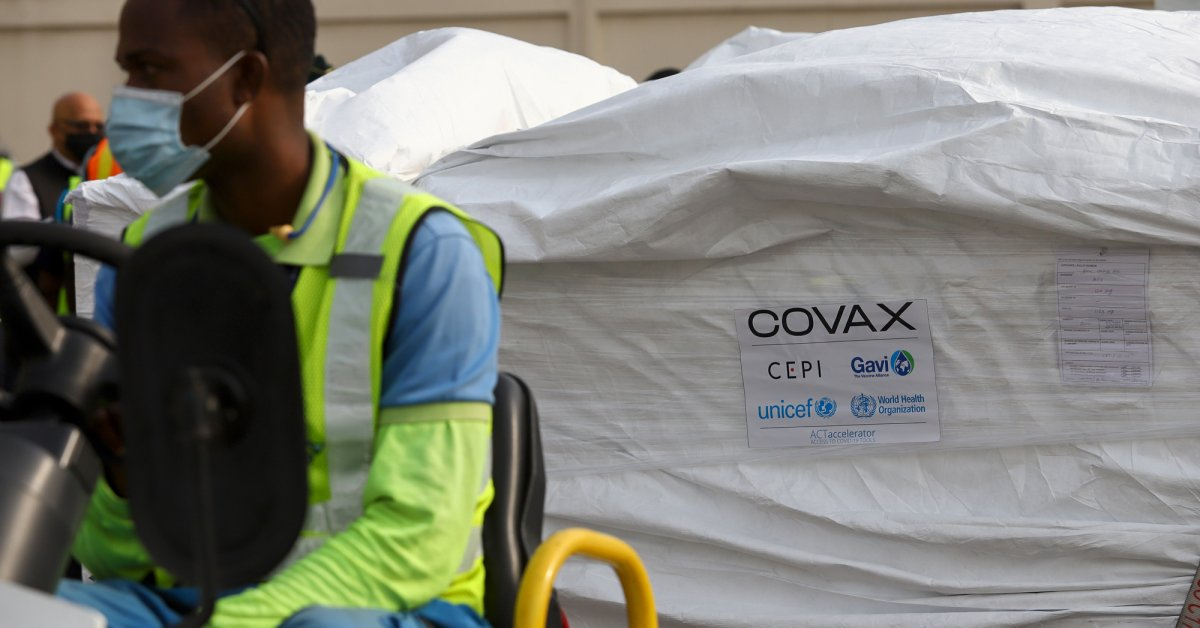 Ghana Receives First COVID-19 Vaccine Delivery from COVAX