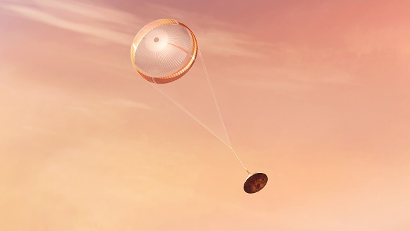 NASA Hid a Message on Perseverance's Parachute