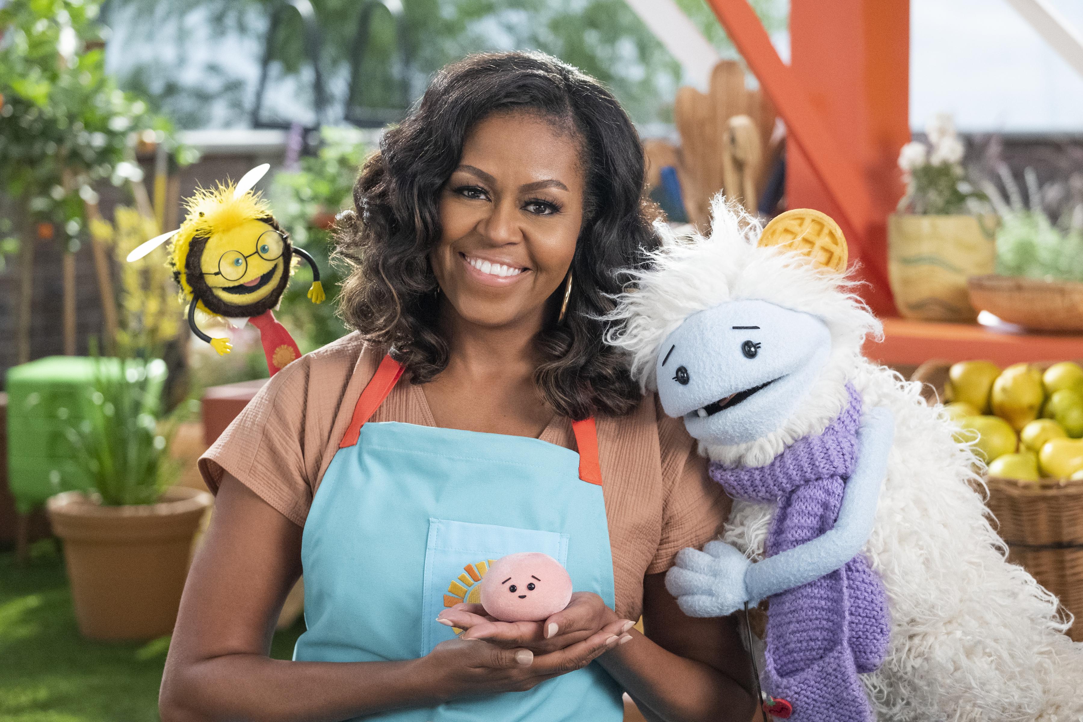 Michelle Obama in 'Waffles + Mochi'