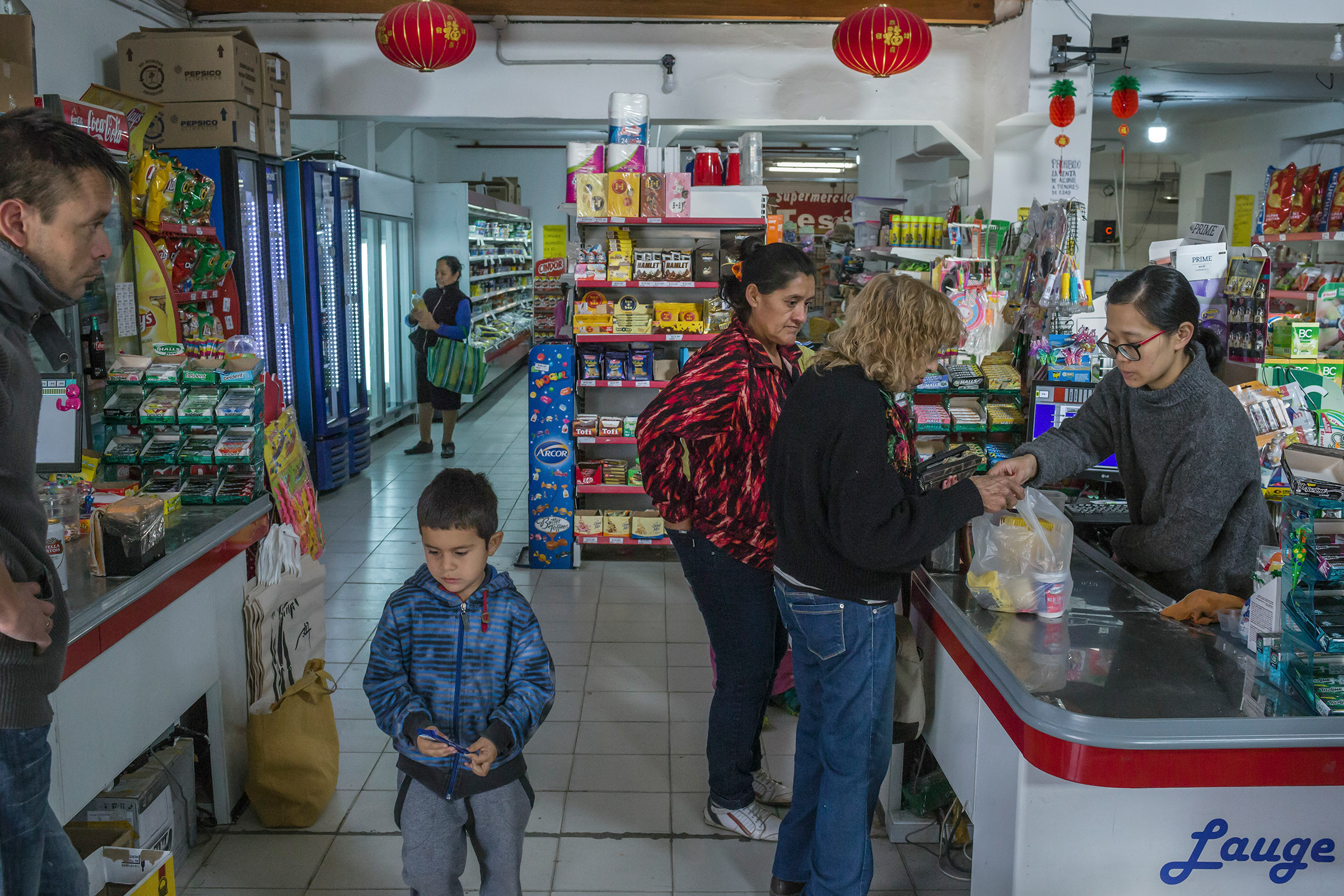 A grocery near a satellite-tracking station China opened in Argentina in 2018