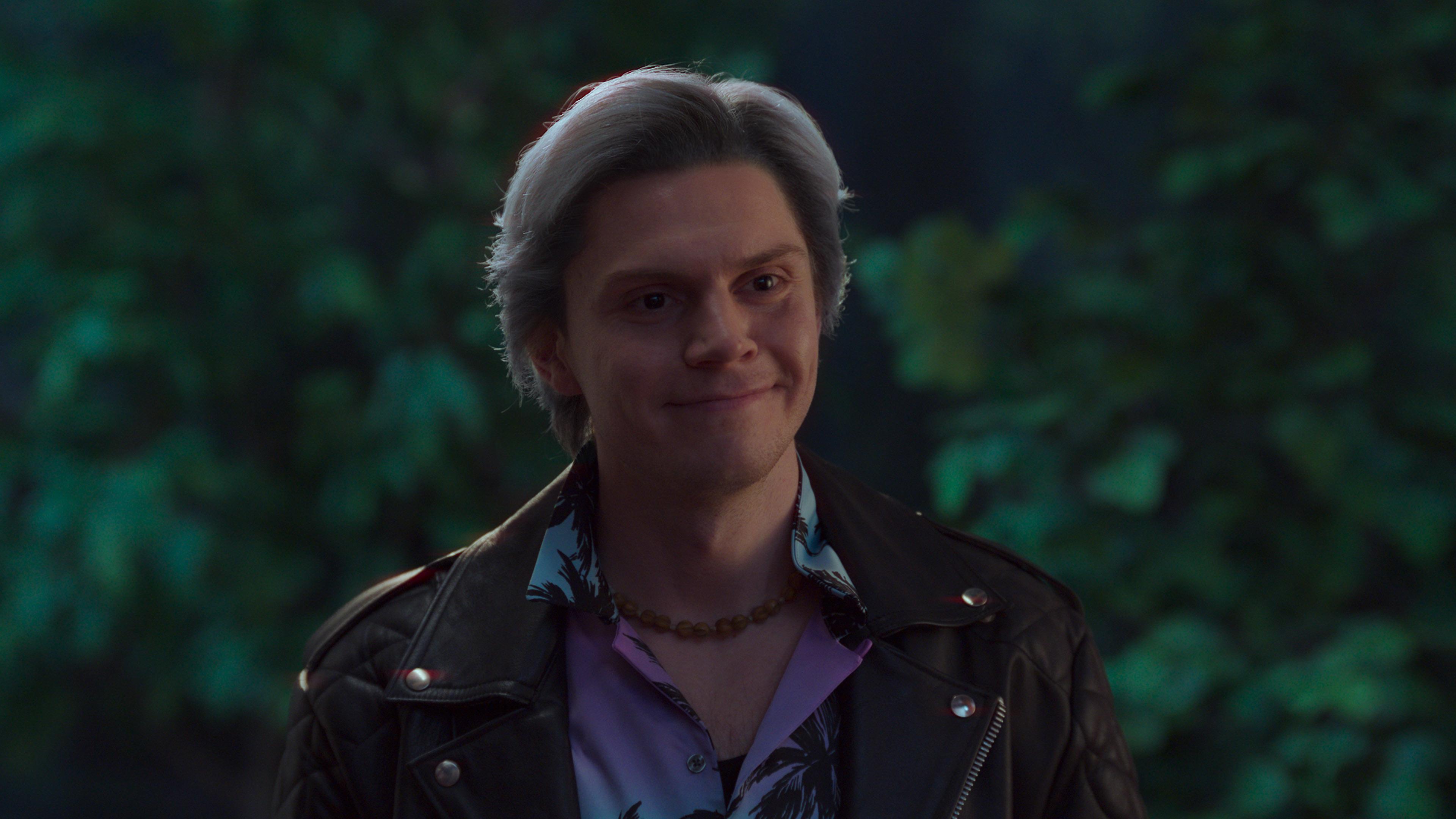 Evan Peters as Pietro in WandaVision