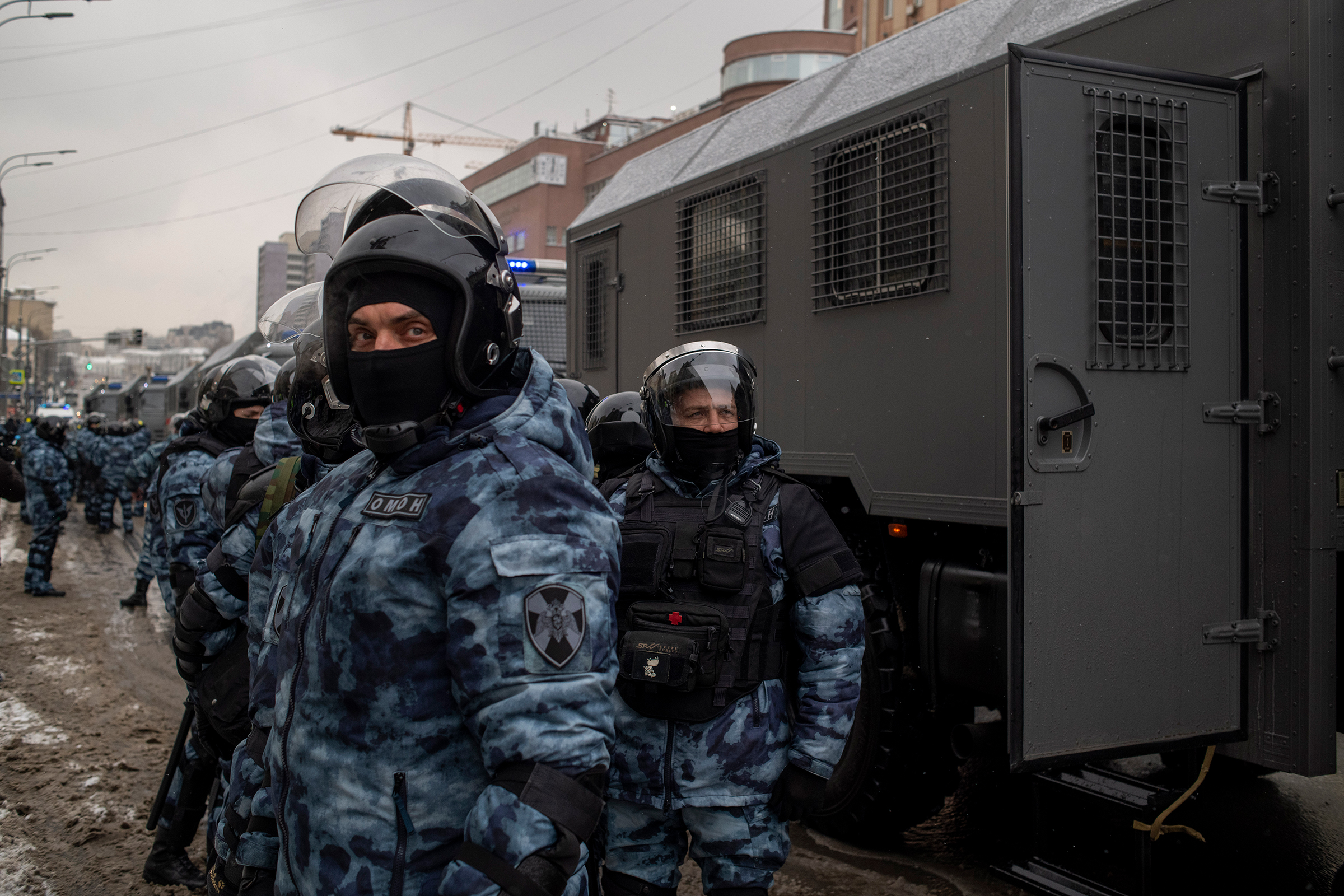 Protests swelled across Russia on Jan. 31, marking a second consecutive weekend in the wake of Alexei Navalny's arrest.