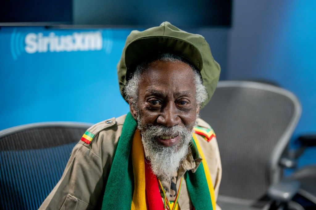 Bunny Wailer of the Wailers visits SiriusXM Studios on November 04, 2019 in New York City.