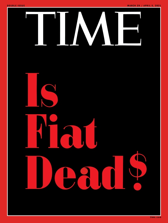 TIME Is Fiat Dead? cover