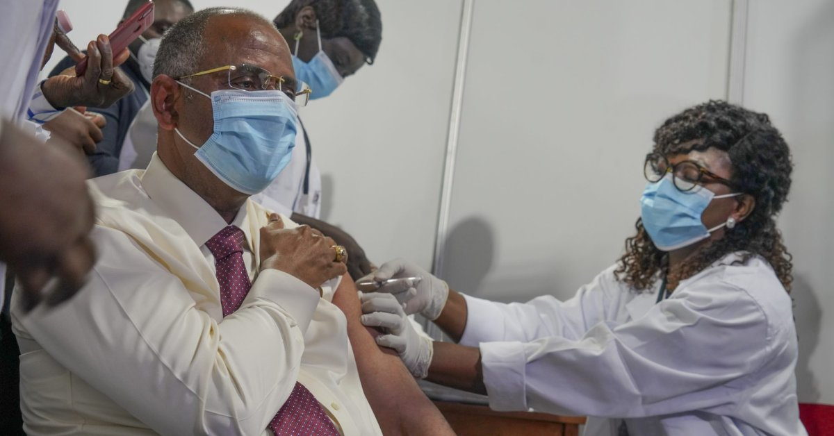 The First COVID-19 Vaccines Shipped Through COVAX Were Administered in the Ivory Coast