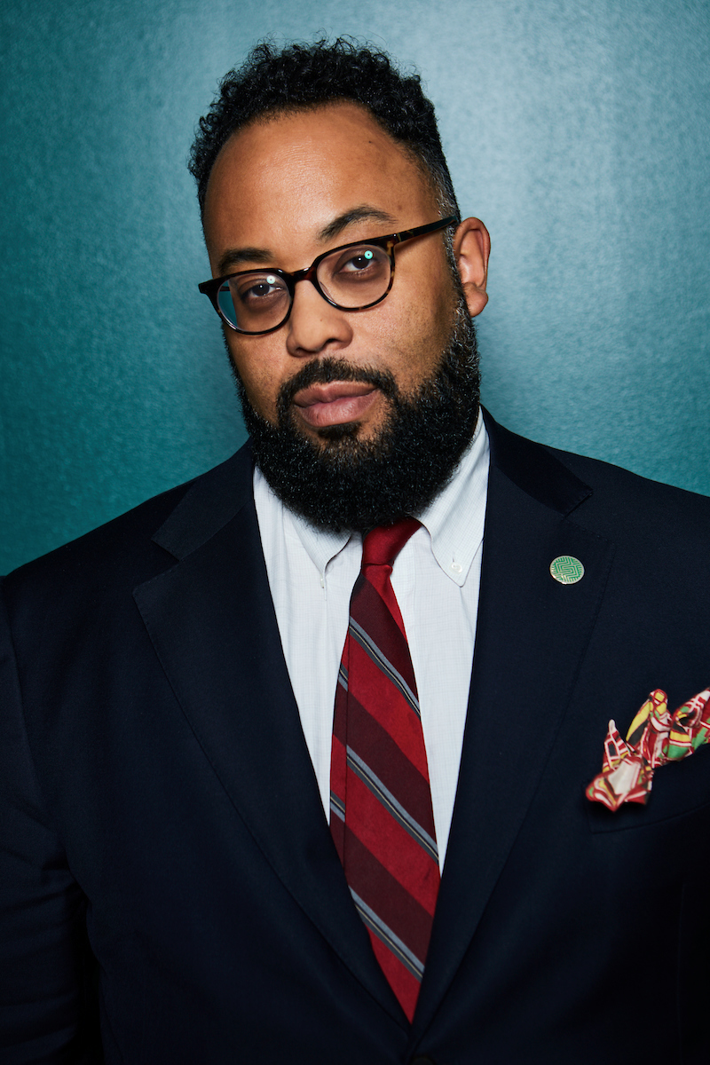 Kevin Young, poet and the new director of the Smithsonian's National Museum of African American History and Culture.