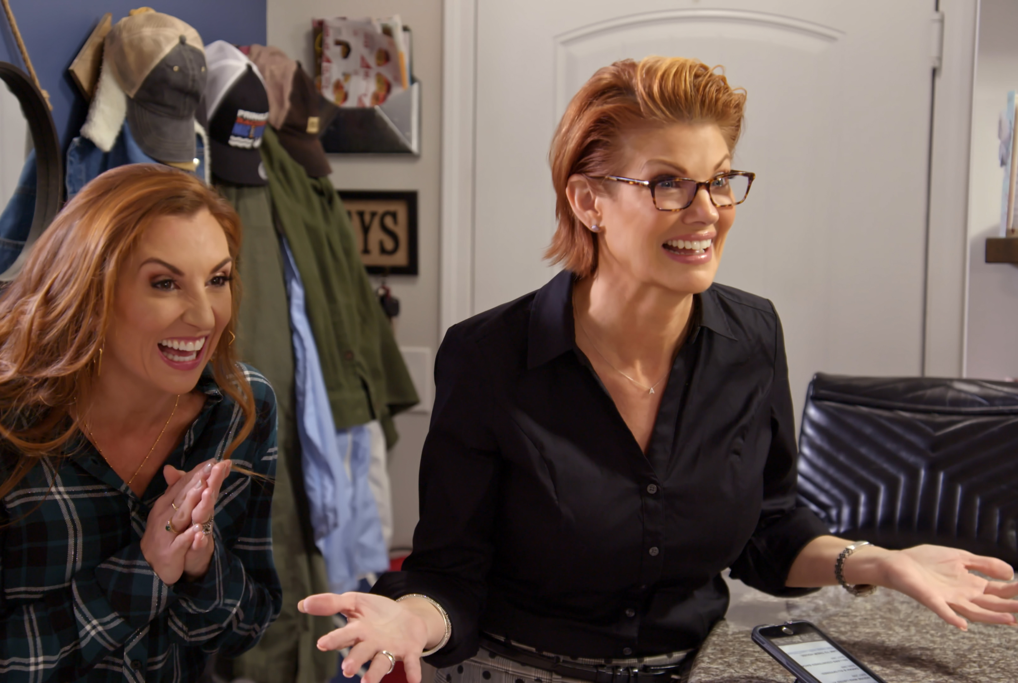 Wedding planner Sarah Miller and real estate agent Nichole Holmes compete to convince a couple to choose to invest in a wedding or a home