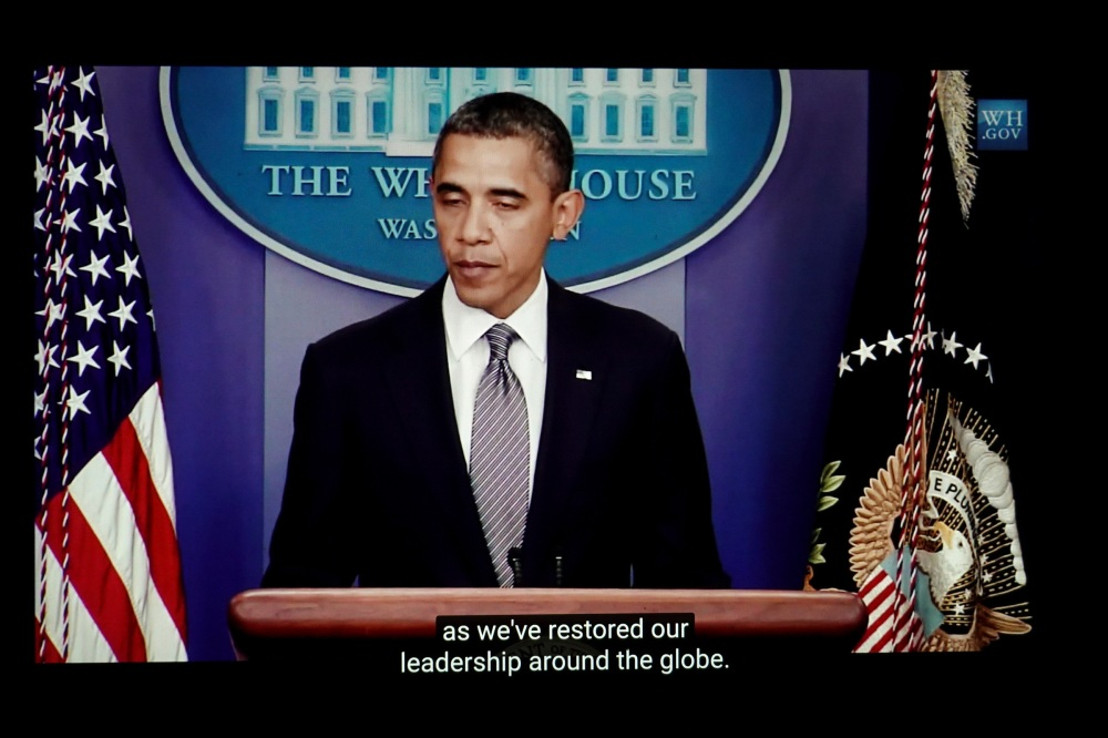 President Obama announces the withdrawal of American troops from Iraq in 2011. Within three years much of northern and western Iraq would be taken over by ISIS.