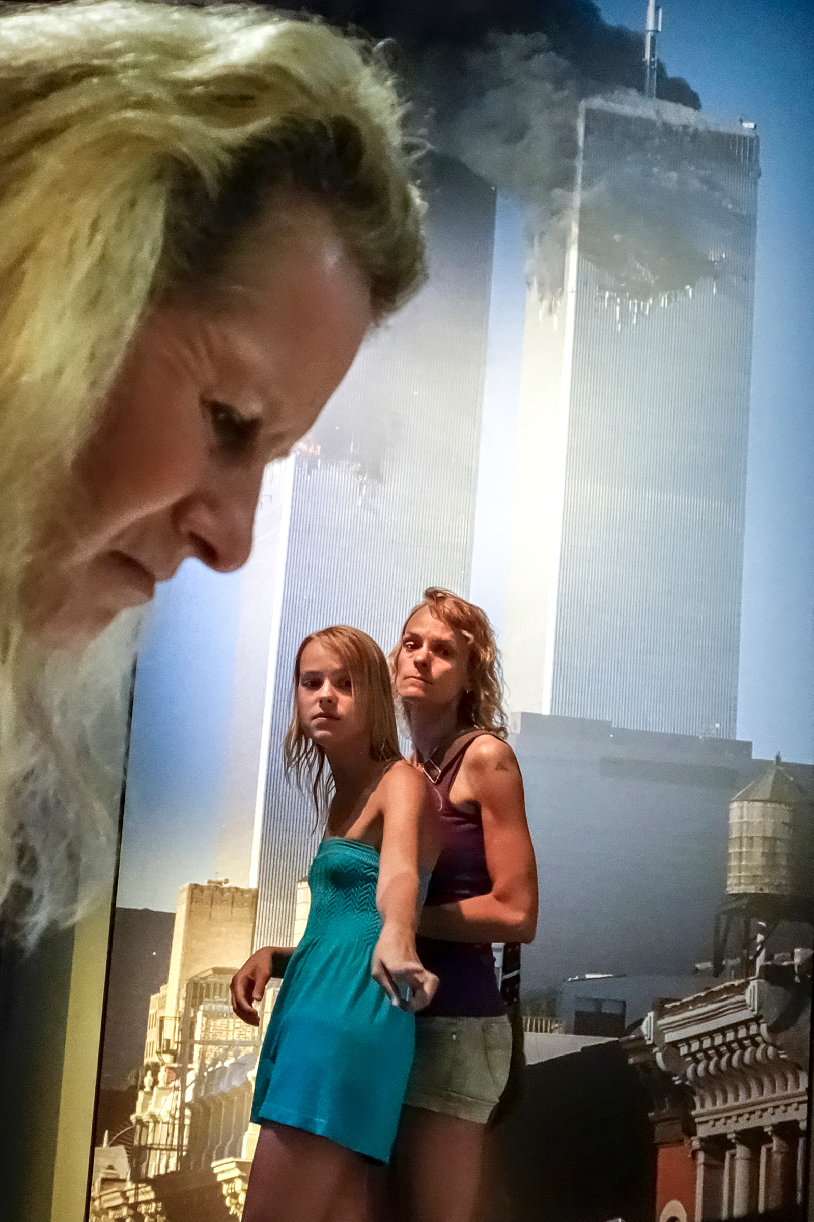 """A display at the 9/11 Museum in New York. The museum walks a difficult line, trying to make a """"neutral accounting"""" out of one of the most politicized events in history. New York City, 2014."""