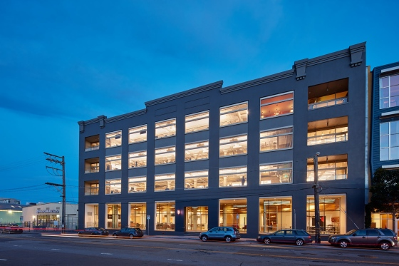 Pinterest's headquarters in San Francisco.